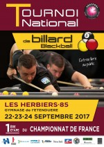 BLACKBALL : Tournoi national n° 1 - Les Herbiers