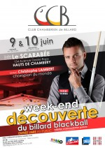 Week-end découverte du billard Blackball avec Christophe Lambert