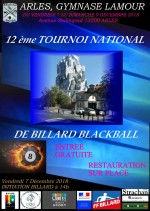 BLACKBALL- 3e TOURNOI NATIONAL À ARLES