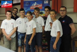SELECTION U15 CHAMPIONNAT DU MONDE BLACKBALL