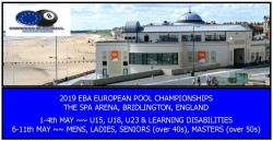 BLACKBALL - CHAMPIONNAT D'EUROPE À BRIDLINGTON