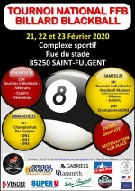 BLACKBALL 4E TOURNOI NATIONAL À SAINT FULGENT