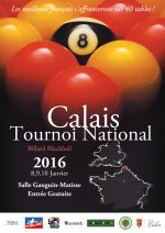 Tournoi national n°4 blackball à Calais