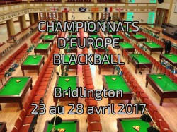 Championnats d'Europe blackball 2017