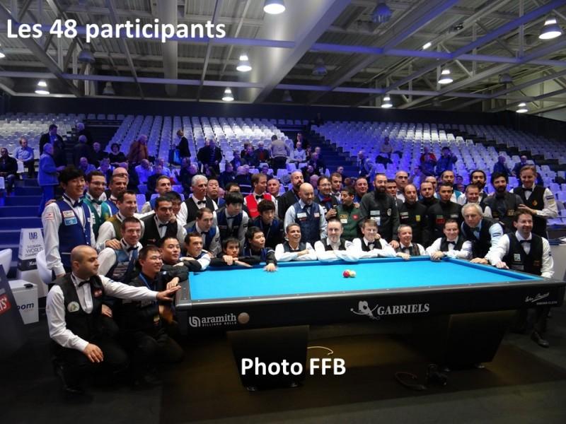 billard 3 bandes championnat du monde 2016