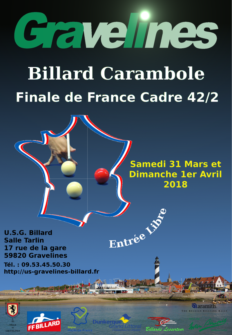 billard gravelines