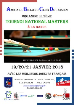 1-BANDE - Tournoi national 2 - Douai
