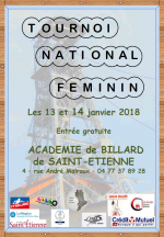 PARTIE LIBRE DAMES : Tournoi national 2 - Saint-Étienne