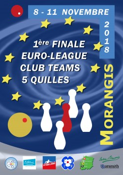 CARAMBOLE 5-QUILLES-EUROLEAGUE MORANGIS