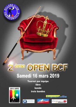 BILLARD CLUB DE FRANCONVILLE 2E OPEN