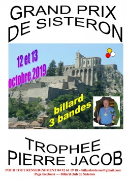 GRAND PRIX DE SISTERON TROPHEE PIERRE JACOB