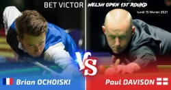 INFO SNOOKER : BRIAN OCHOISKI AU WELSH OPEN