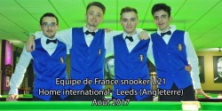 Snooker : Home International 2017