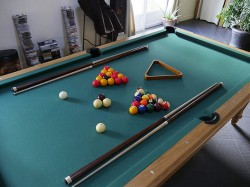 Billard mixte 2,60 m x 1,45 m