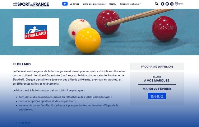 NOUVEAU SITE INTERNET SPORT EN FRANCE